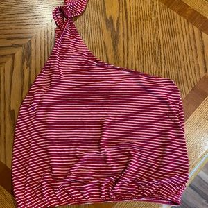 American Eagle Soft and Sexy One Shoulder Tank
